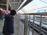 どの新幹線が来たのかなあ?