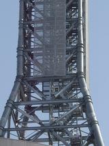 アンテナに上がるための階段UP