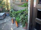 主なき犬小屋が撤去された玄関先の様子