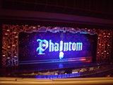 ファントム舞台開演前と幕間の様子