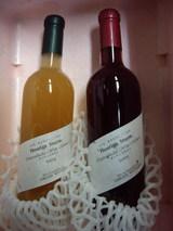小布施ワイナリーのにごりワイン赤と白2007