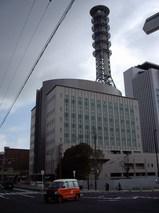 大阪市消防局新庁舎の全景(西消防署)