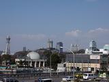 2007年1月29日通天閣と天王寺公園