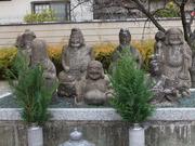 庚申堂の七福神の石像