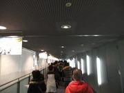 プラレール博入場までの長い行列