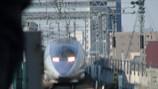 新大阪駅へ入線してくる500系のぞみ号
