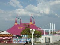 午後のポップサーカステント1