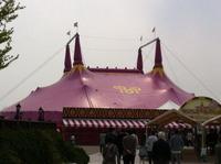 午前のポップサーカステント2