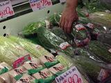 大きなゴーヤに島豆腐