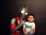 ウルトラマンとの初めての記念写真