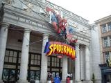 スパイダーマン・ザ・ライド乗り場