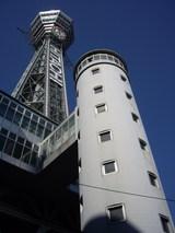 2007年1月29日通天閣東面をエレベータ傍から