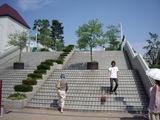 ファミリーランド時代からの大きな階段
