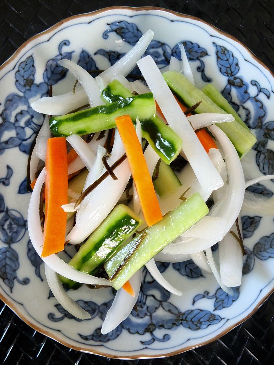 きゅうり と 大根 の サラダ