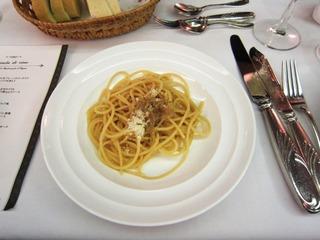 ワイン会 スパゲッティ