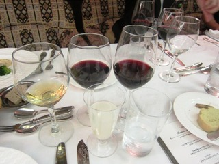 ワイン会 グラスみな