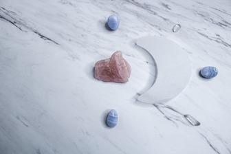 月のクリスタルグリッド