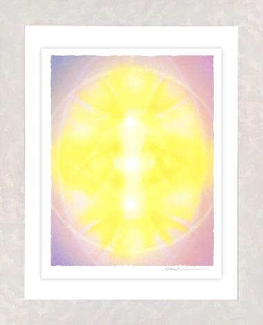 創造の光輪マゼンタ