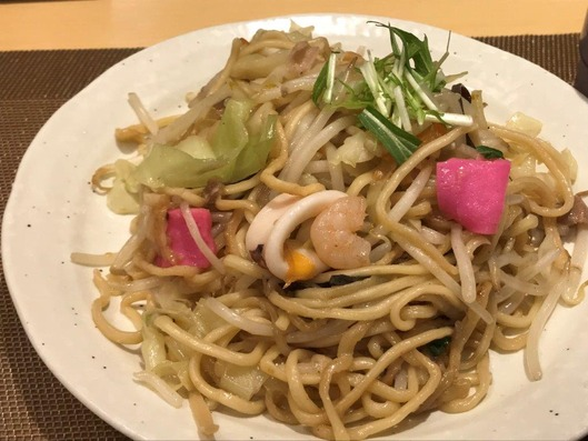 皿焼きそば福岡