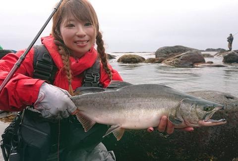 大苦戦のカラフトマス釣り2021