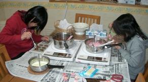 チョコ作り