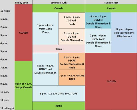 FFM-Rumble8-Schedule