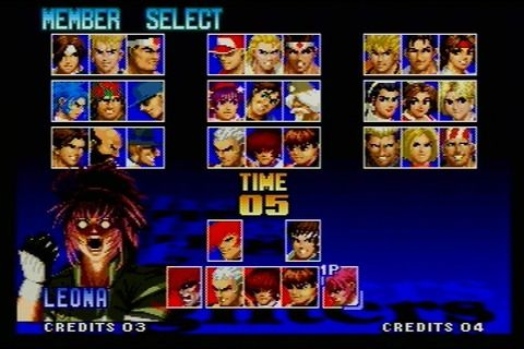kof97charaselect