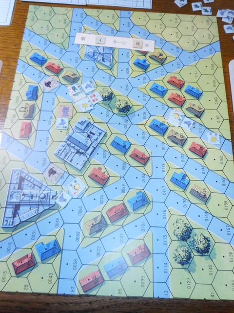 T4ジオン軍 鬼神ドムが指揮官機を撃破