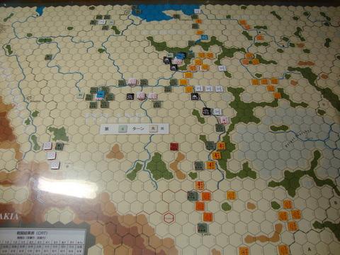 T6D 前線でソ連軍を食い止めながら、後方の掃討