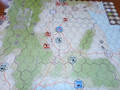 T4 東軍先駆隊、赤坂へ