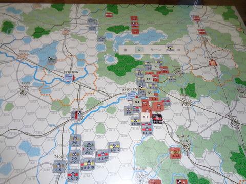 T5 そのまま、モスクワ正面軍を圧迫