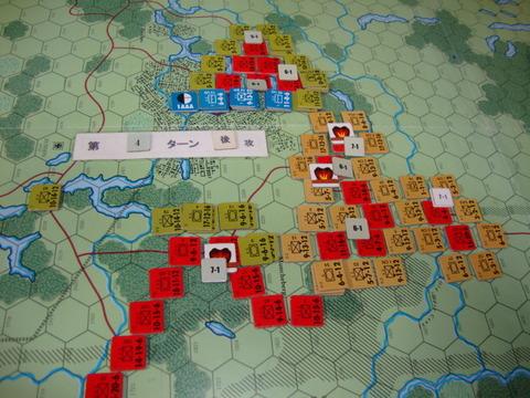 T4連合軍、敵主力を捕捉DSC05913