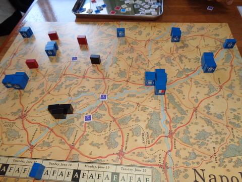 6.17夜間 フランス軍、包囲下に残される