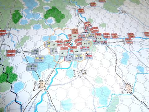 T3 第22軍戦力を丸々、包囲