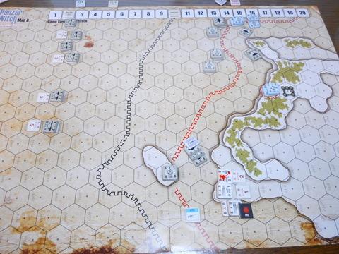 T10 4号スタックがイゼッタを攻撃、ランスで防御も2つを失う