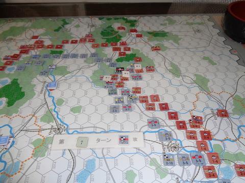 T7 矛先を南部へ転換