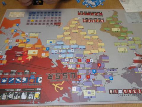 T1 欧州が赤く染まり・・・