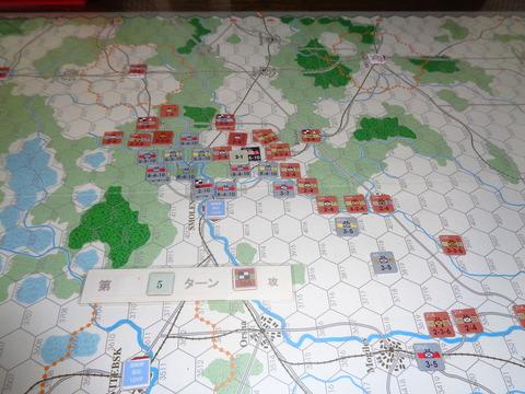 T5 16軍の反撃は効果なし