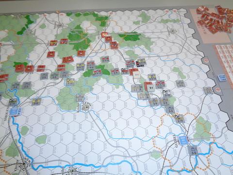 T7 ゴメリ占領後、ブリヤンスクへ