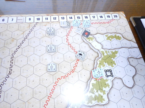 T7 東塹壕で決死の抵抗、LMG分隊が1輛を撃破!