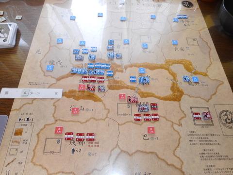 T6 再び、魏の武威進攻(第二次)