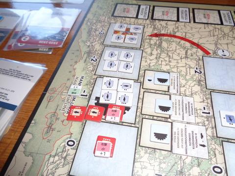 T3 マンネルハイム線、強襲