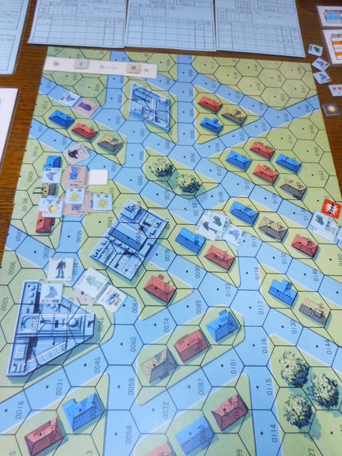 T2連邦軍 反撃でドム誘爆、巻き込まれ