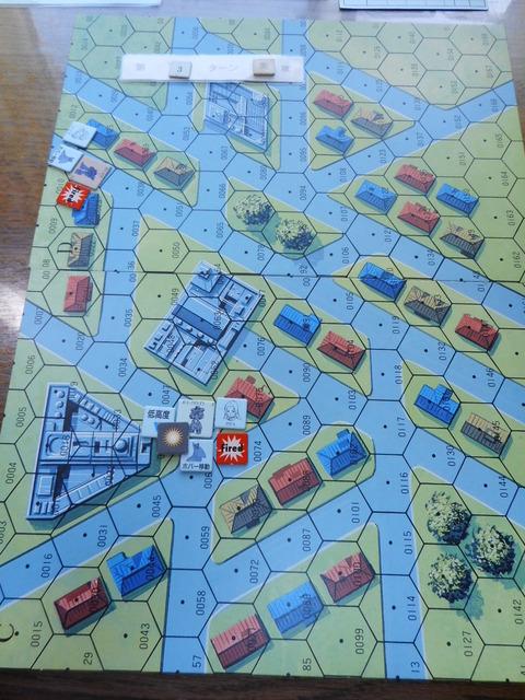 T3 アレックスの攻撃と反撃