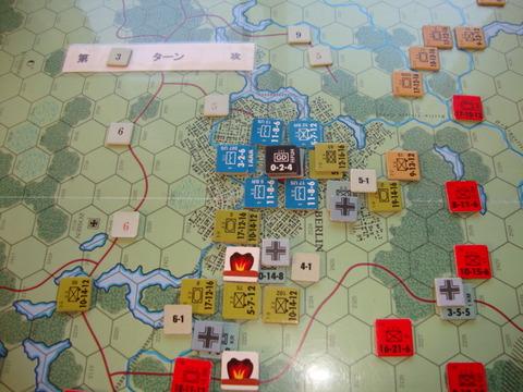 T3西側 市街地に進入したドイツ軍を排除DSC06428