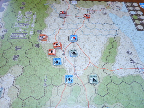 T6 西軍が必死に防衛線を引くが