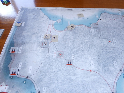 前半戦 北部政府軍の逆襲