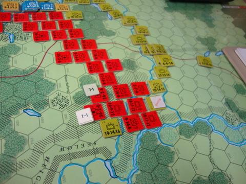 T5連合軍 北端から迂回、砲兵蹂躙DSC05874