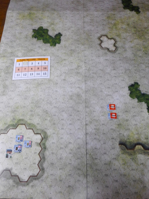 T2ドイツ軍の布陣