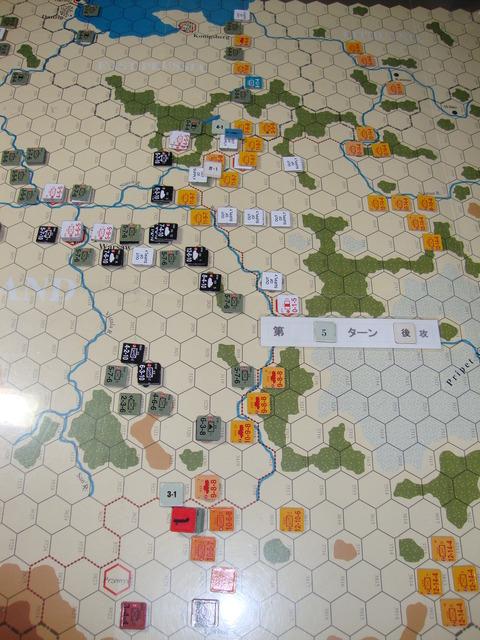 T5S ソ連軍、戦闘介入